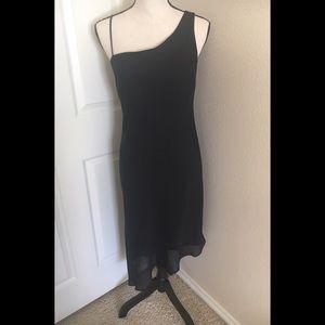 Size 9/10 Alyn Paige Black Evening Dress